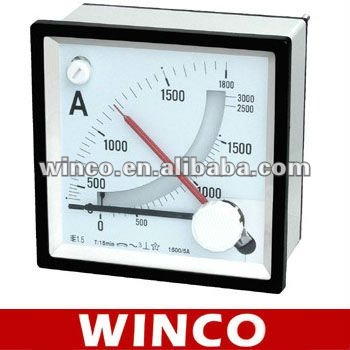 96 Maximum Demand Ammeter with moving iron ammeter