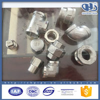 high pressure high temperature cast iron pipe fitting union connector,pipe threader plug