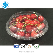 Fruit Clamshell Packing transparent food grade plastic PET cherry packing box