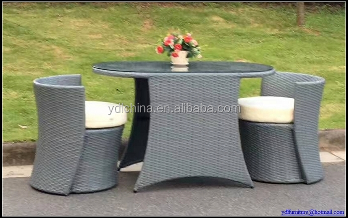 factory sale low price SGS HDPE rattan wicker outdoor patio set YBS-02