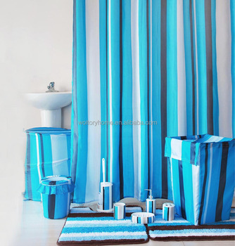 Shower curtain coordinate bathroom set bathmat and bath for Bathroom coordinates