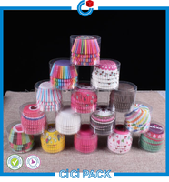 2016 Wholesale Colorful Paper cup cake box