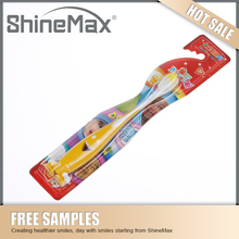 Best selling colorful lovely kids cartoon toothbrush