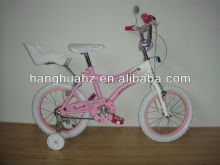 HH-K1640 16 inch pink best price children bicycle with baby seat