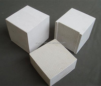 Honeycomb ceramic for regenerator heat exchanger