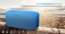 S305 Super Bass Hi-Fi Mini Wireless portable bluetooth speaker Support Hands-free Function TF Card Built-in FM Radio