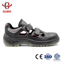 sell well Enropean standard embossed leather anti-vibration safety shoes models