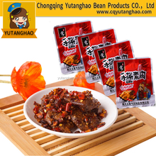 Chinese Healthy Spicy Hand Made Bean Snack Food