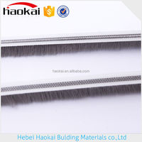 building materials door hardware wool pile / weather strip /brush sealing strip