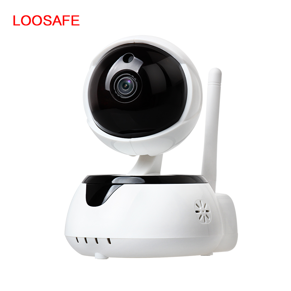 LOOSAFE Smart Home Wifi Camera 720P Hd Wifi P2P IP wireless Camera Two Way Audio