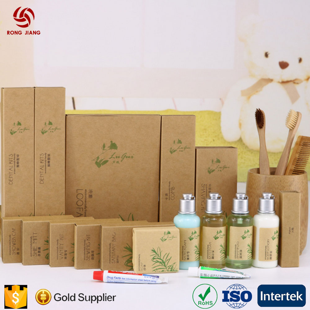 Professional 5 Star Luxury Hotel Bathroom Disposable Supplies Reusable Hotel Toiletries Set Manufacturers