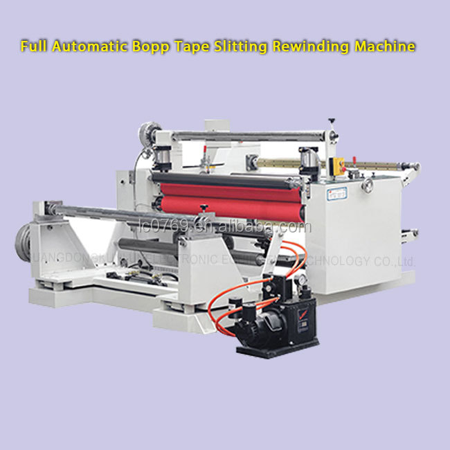 High Quality Thermal Paper Roll and Masking tape Roll Slitting Machine