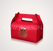 Paper Red Wedding Favor Box in China
