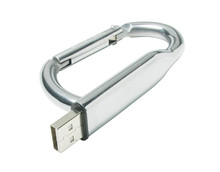 New arrival hotsale cheap carabiner usb flash drive shaped carabiner