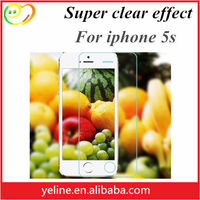 Wholesale 0.3MM 2.5D 9h Tempered Glass Screen Protector for Iphone5