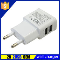 Brand New OEM hot sell micro multiple usb wall charger for appale iphone4