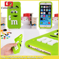 Wholesale Chocolate jelly Bean Silicone soft Case for iphone5 /5s