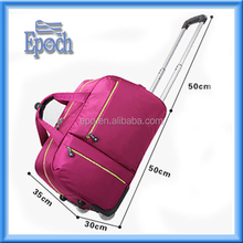 2016 huge capacity travelling trolley bag parts with hot design