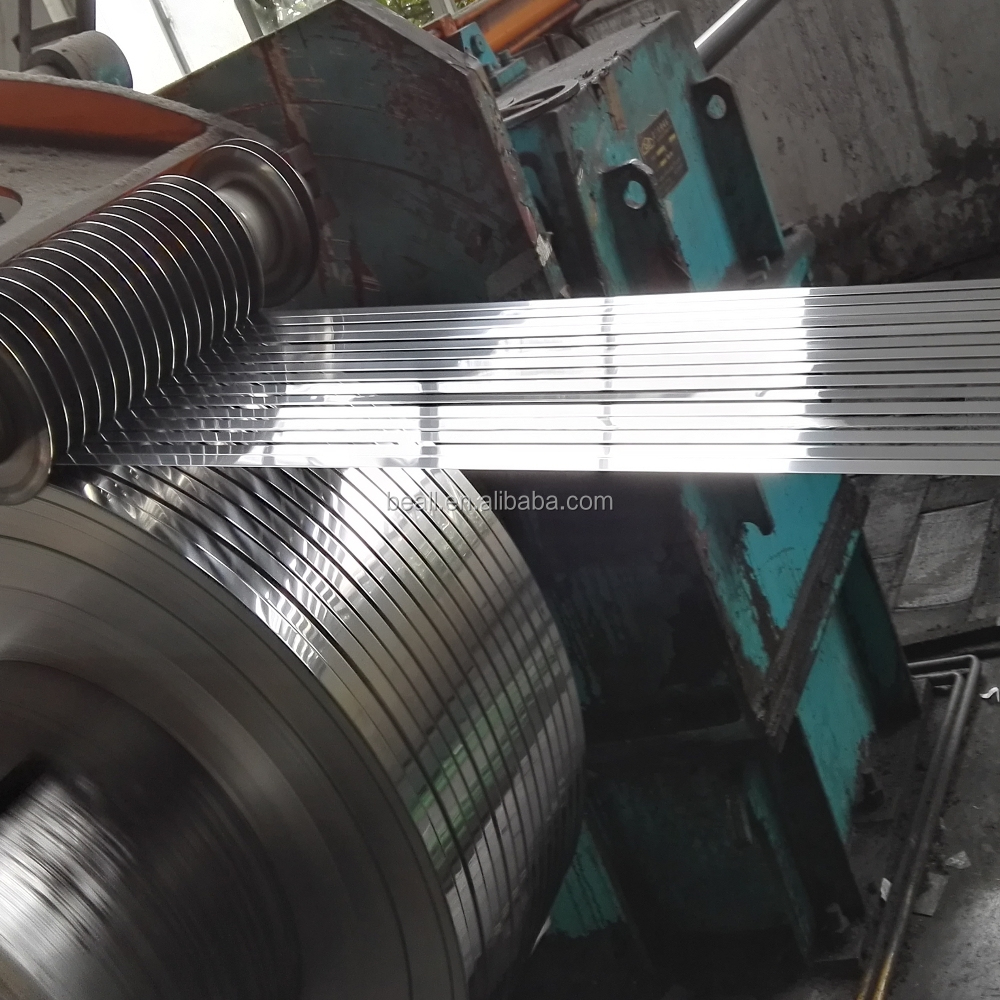 ASTM AISI SUS SS 201 202 301 304 304L 309S 316 316L 409 410S 410 420 430 440 Stainless Steel Strips / Belt / Band / Coil / Foil