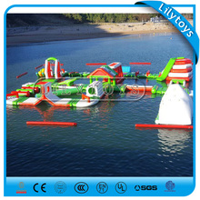 Gaint Inflatable floating water park obstacle floating water
