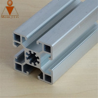 Types of Anodized Aluminium Frames Square Tube Profile for Railing