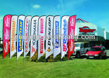 2012 outdoor advertising bow flags