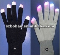 party favor lights color changing led flashing gloves