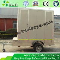 reasonable cost trailer toilet caravan