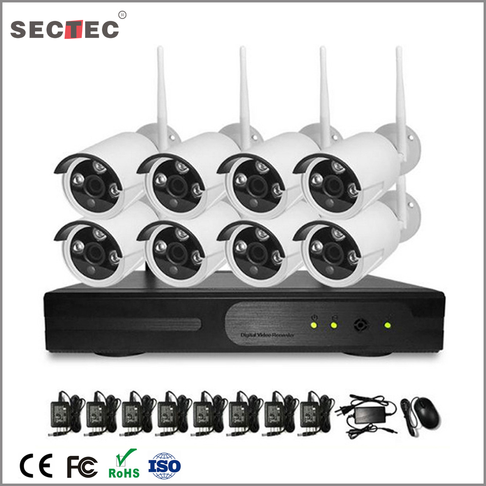 HD CCTV wifi 3g security surveillance camera kit system