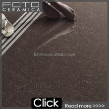 Crystal double loading serior of polished surface ceramic tile chocolate/red floor tile