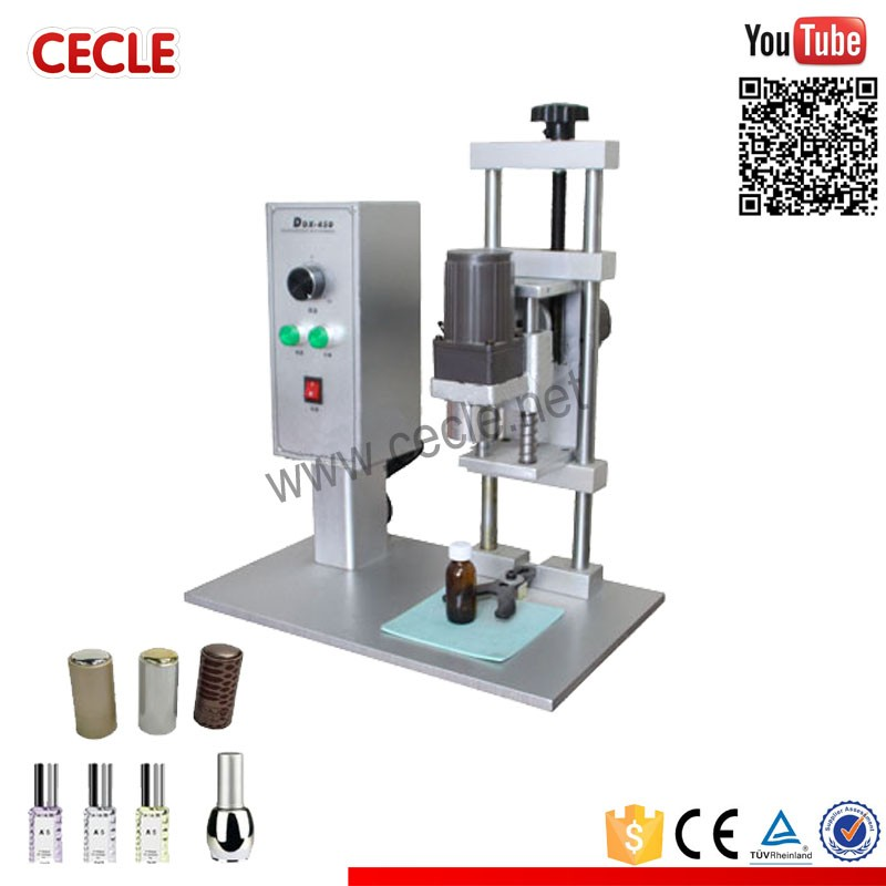 DDX-450 manual bottle capping machine