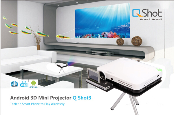 Portable 3D Home Theater System