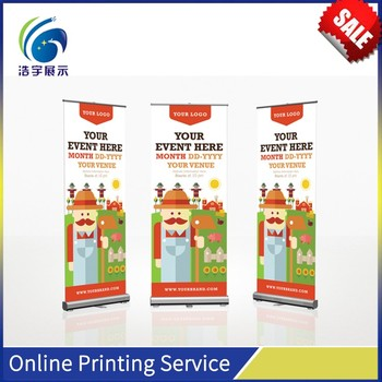 High quality teardrop stand banner roll up banner