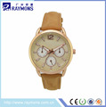 Customize Watches Women Luxury Brand Rose Gold Case Watches Ladies