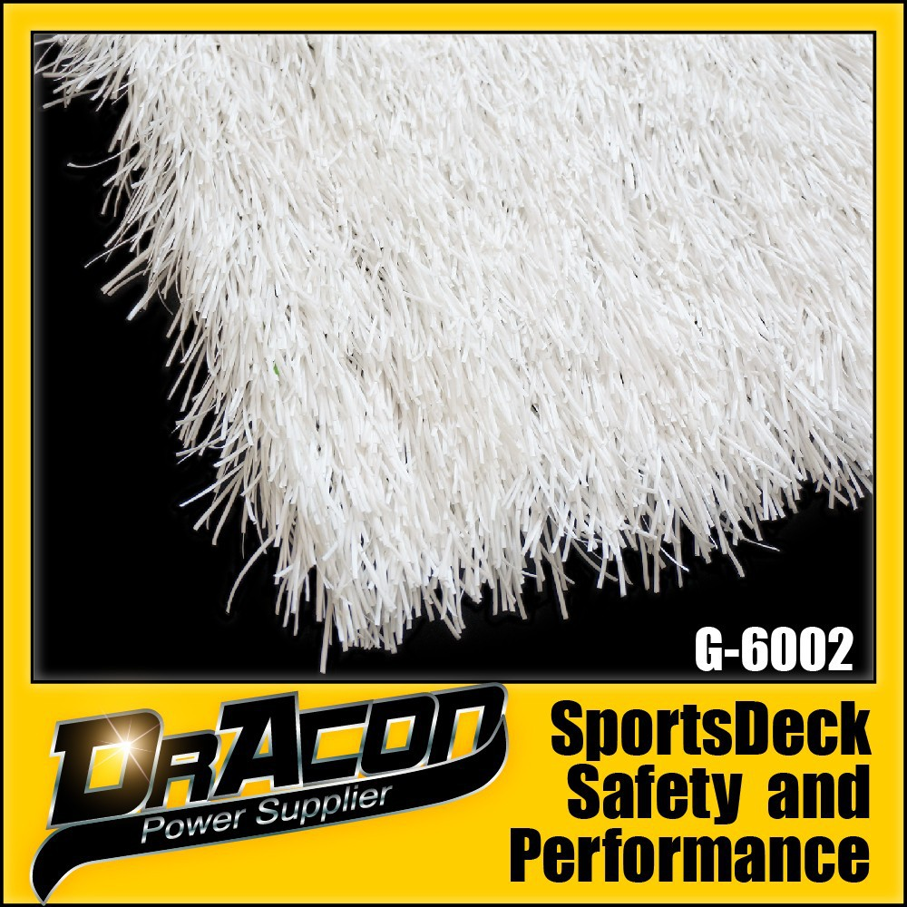 White Synthetic Football Court Turf