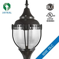 IP 65 waterproof garden light ul dlc led UL DLC post top light