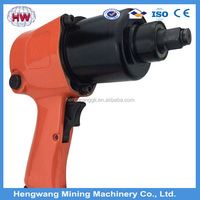 "power pneumatic tools 3/4"" air impact wrench with twin hammer gun type with factory price"