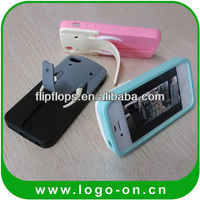 silicone mobile phone stand case