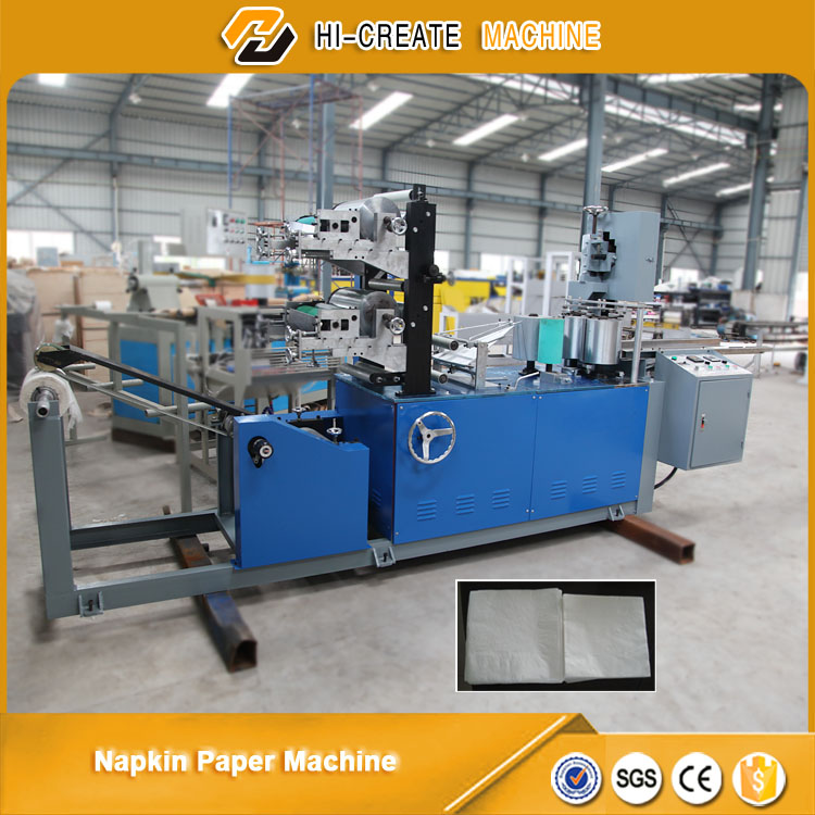 china supplier HC-NP napkin paper machine for small business paper roll sheeter machine