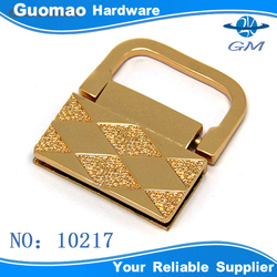 Decoration frame zinc alloy metal hardware for handbag