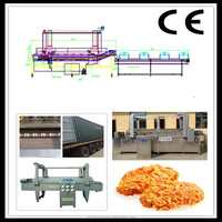 Continuous Chicken Buffalo Wing Frying Machine