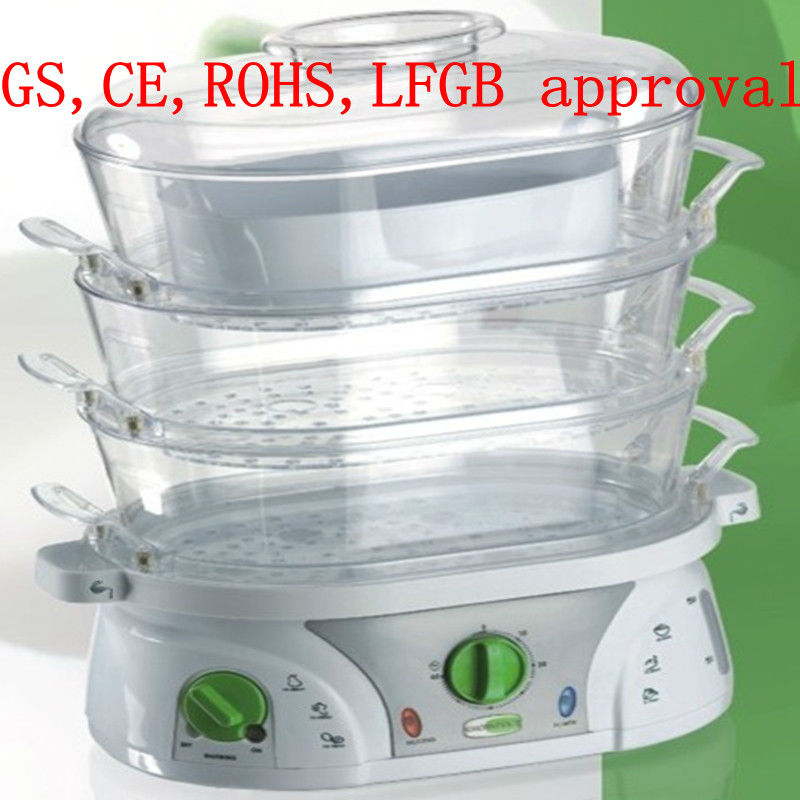 Keep warm plastic food steamer
