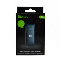 Rechargeble USB APT-X Bluetooth Receiver for Laptops and Television with NFC Function