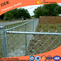 Hot Sale Chain Link Fence Panels Slats Dog Kennel Lowes