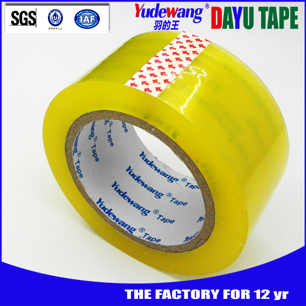 China supplier best quality free sample transparent adhesive tape