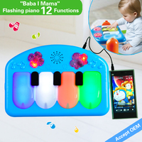 HX910502 Popular piano keyboard instrument music educational toy for kids