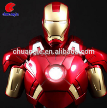 Ironman 1:1 Scale Bust Figurines Wholesale Cheap/Resin Ironman Figure