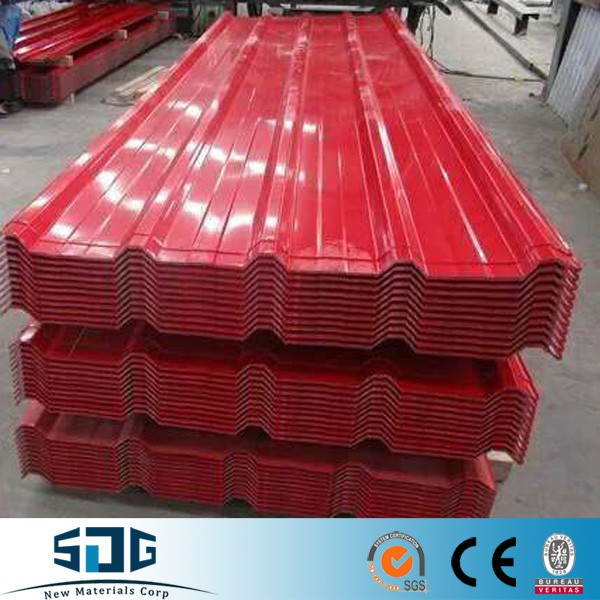 Roofing metal/color coated corrugated sheet /black corrugated metal roofing sheet export to Southeast Asia