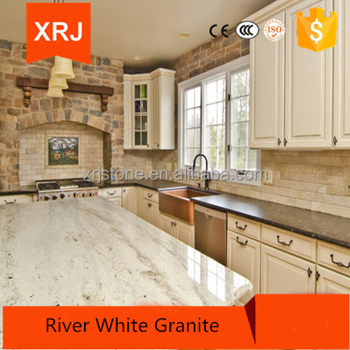 Countertops Made of River White Granite at Competitive Prices