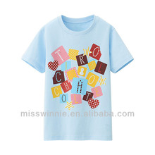 Latest boys t-shirt with letters
